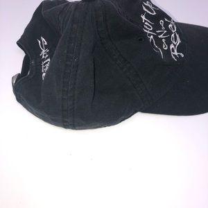 Salt Life Accessories - Salt life black shut up n reel fishing cap hat
